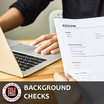 Background Checks - P4 Security Solutions