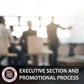 Security Executive Selection and Promotional Process