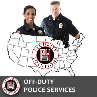 Protection Services - Off-Duty Police | P4 Security