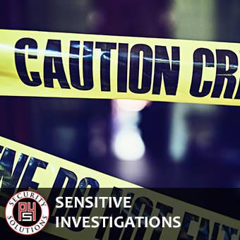 Sensitive Investigations